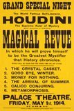 Houdini Magical Revue