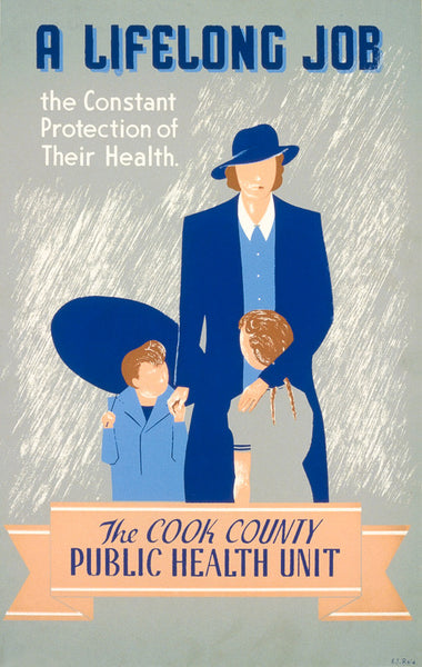 A Lifelong Job WPA poster