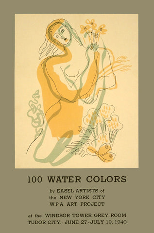 100 Water Colors