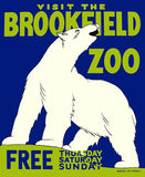 Visit the Brookfield Zoo (Polar Bear)