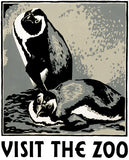 Visit the Zoo: Penguins poster