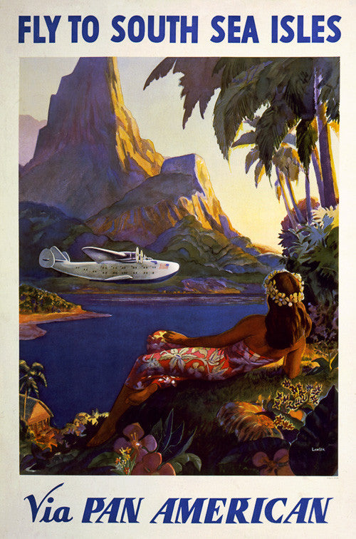 Fly to South Sea Isles via Pan American
