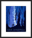 See America National Park framed poster