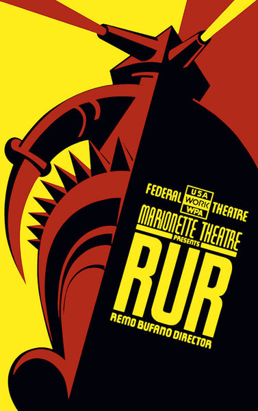RUR at Marionette Theatre