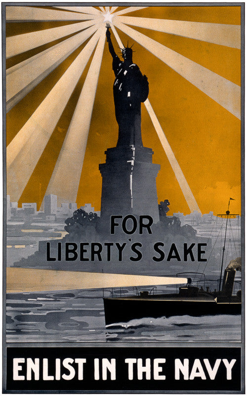 For Liberty's sake - Enlist In The Navy
