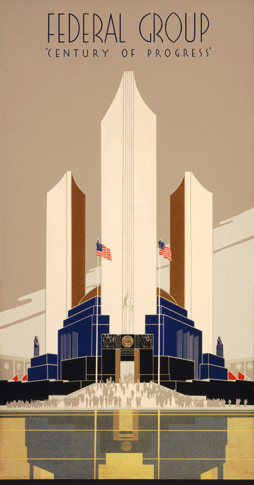 Century Of Progress 1934 Chicago World S Fair Vintagraph