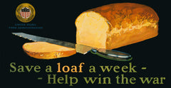 Save a Loaf a Week - Help Win the War