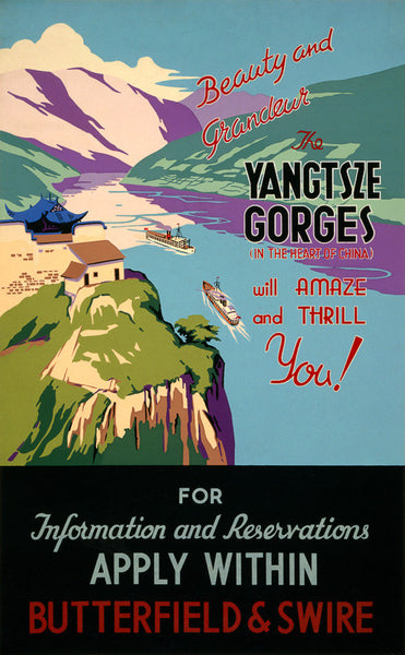 The Yangtsze Gorges