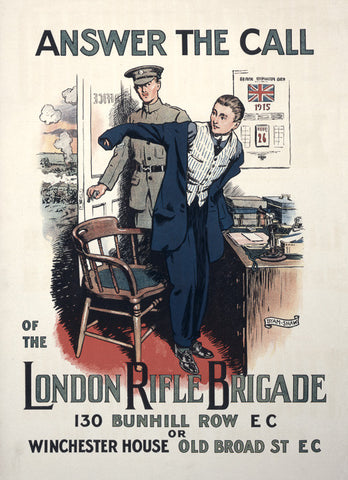Answer the Call of the London Rifle Brigade