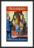 Philadelphia - Go by Pennsylvania Railroad