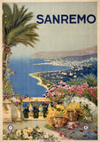Sanremo Travel Poster