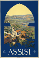 Assisi Travel Poster