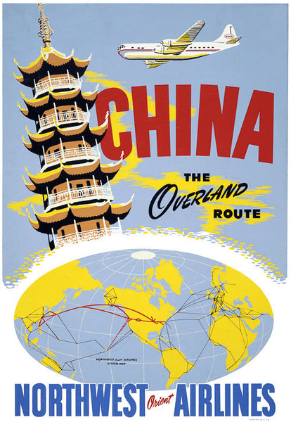 China, the Overland Route