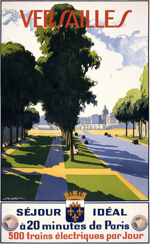 Versailles Travel Poster