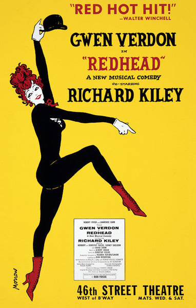 Redhead theater poster