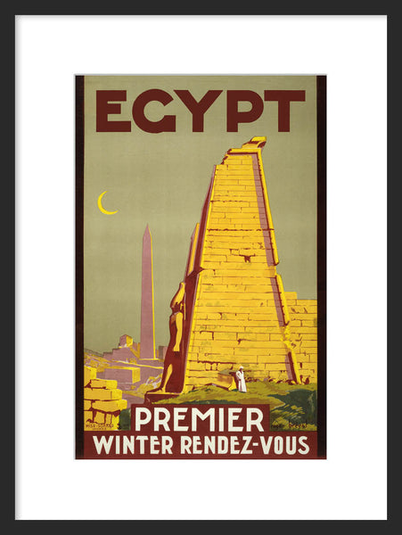 Egypt: Premier Winter Rendez-vous framed poster