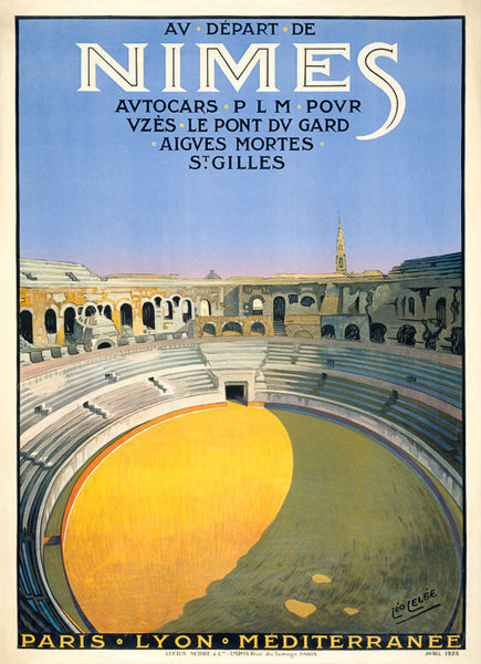 Nimes, France Poster
