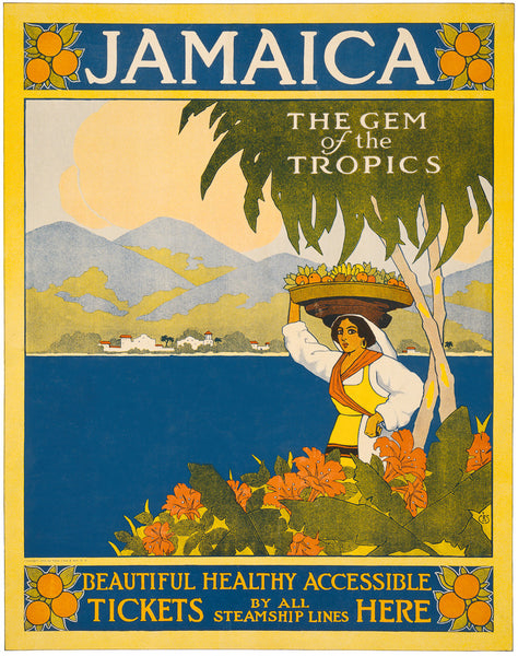 Jamaica: The Gem of the Tropics poster
