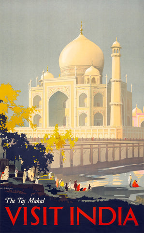Visit India: The Taj Mahal