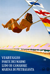 Vintage Tuscany Travel Poster