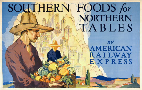 Southern Foods For Northern Tables Vintagraph Prints