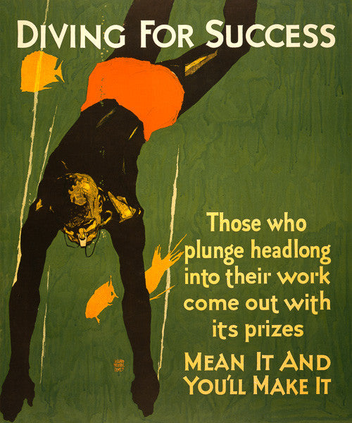 Diving for Success
