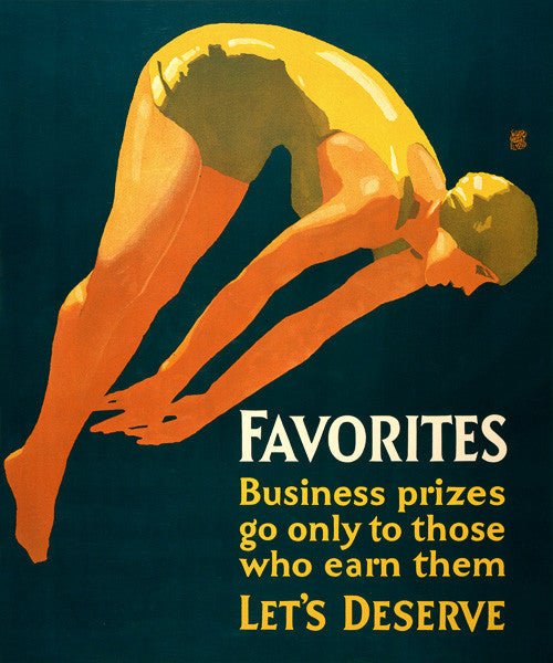 Business Prizes Go Only To Those Who Earn Them