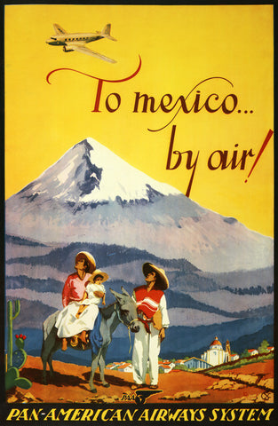 To Mexico By Air