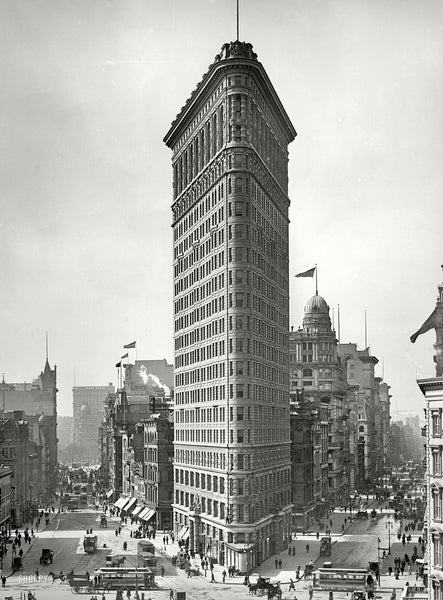 The Flatiron Building 1903 Vintagraph Prints