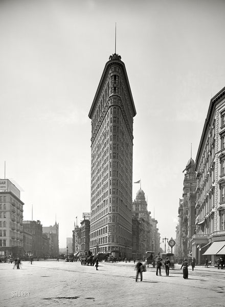 The Flatiron Building 1905 Vintagraph Prints