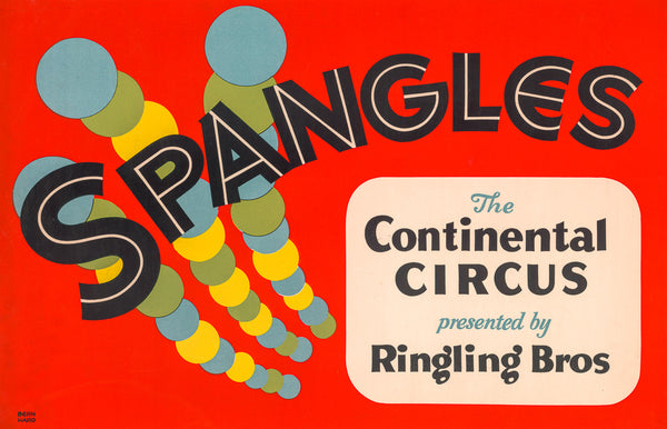 Spangles: The Continental Circus poster