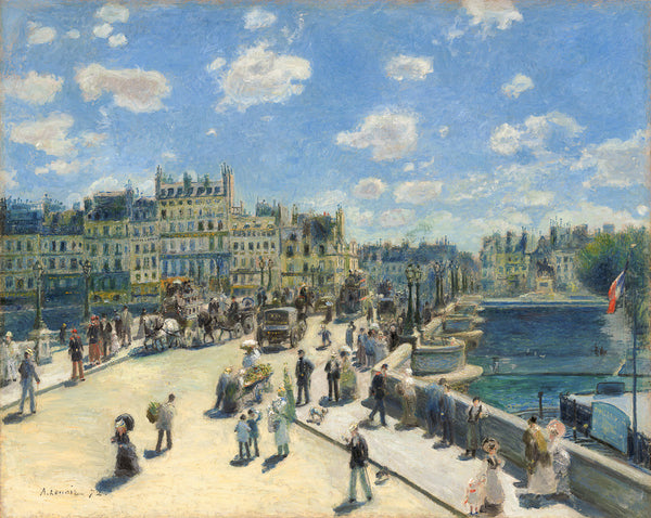 Pont Neuf, Paris by Auguste Renoir