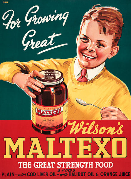 Wilson's Maltexo: For Growing Great - Vintagraph Prints