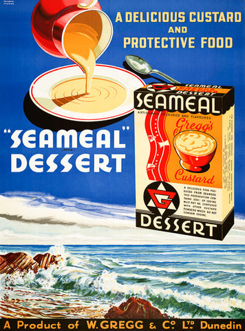 Seameal Dessert: A Delicious Food Produced from Seaweed