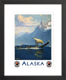 Alaska Travel Framed Poster