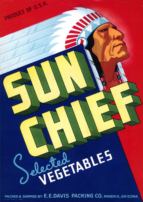 Sun Chief Selected Vegetables