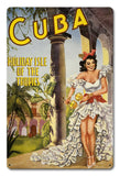 Cuba, Holiday Isle of the Tropics Vintage Travel Poster