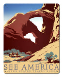 See America WPA Poster (Cowboys)