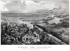 Across the Continent Currier and Ives print