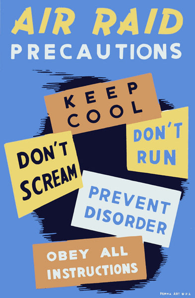 Keep Cool: Don't Scream