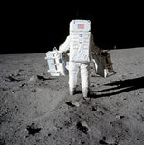 Aldrin Carries Experiments