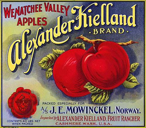 225 45 15 >> Alexander Kielland Apples – Vintagraph Prints