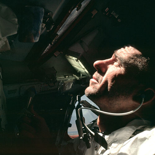 Apollo 7 Astronaut at Work