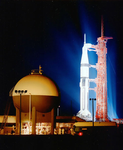 Apollo 7 at Night
