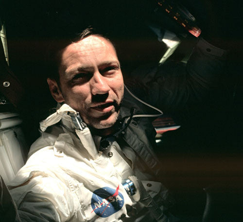 Apollo 7 Donn F. Eisele in Orbit