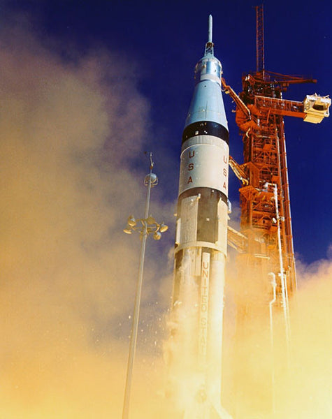 Apollo 7 Liftoff
