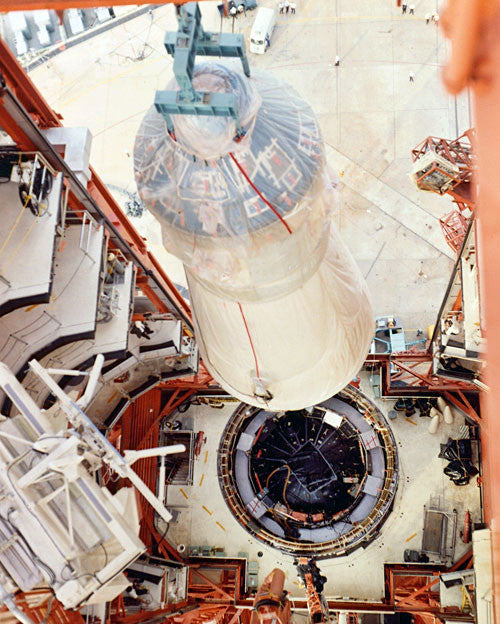 Apollo 7 Mating of Modules