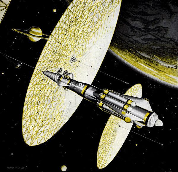 Solar Wind Ships at Titan print
