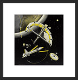 Assembling a Station in Space framed print