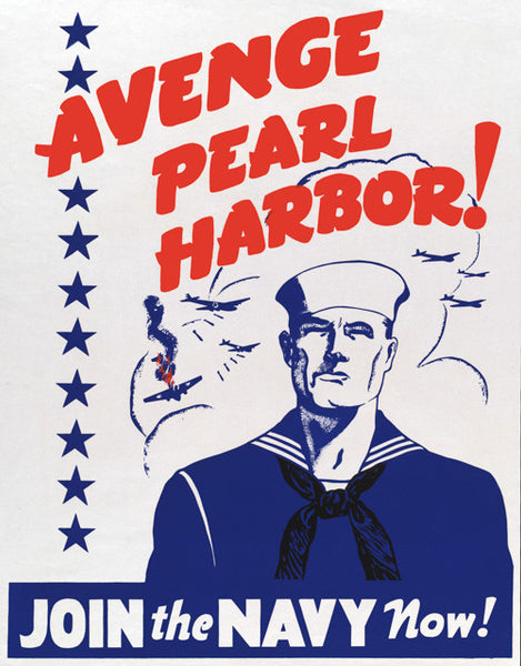 Avenge Pearl Harbor Join The Navy Now Vintagraph Prints